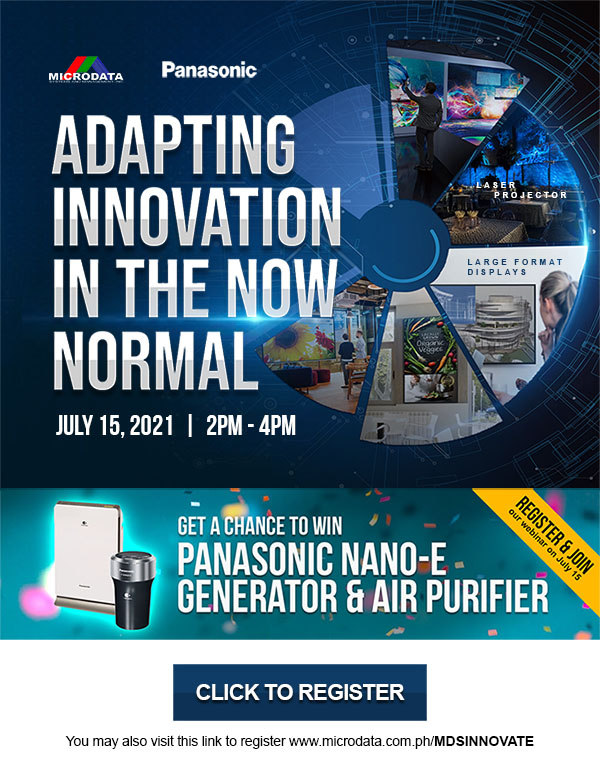 Panasonic Webinar